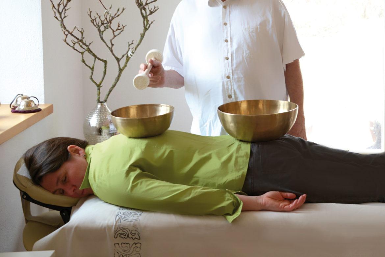 Rückenklangmassage
